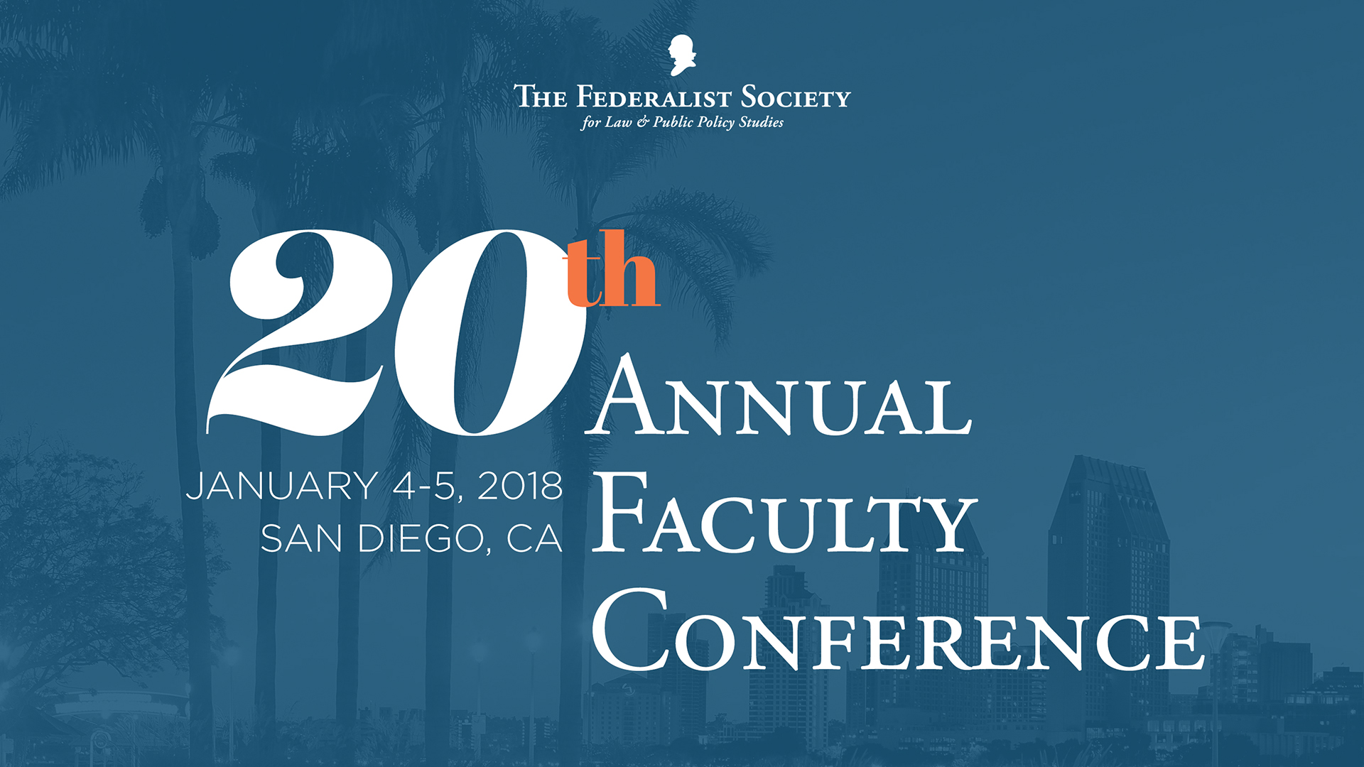 The 20th Annual Federalist Society Faculty Conference Livestream