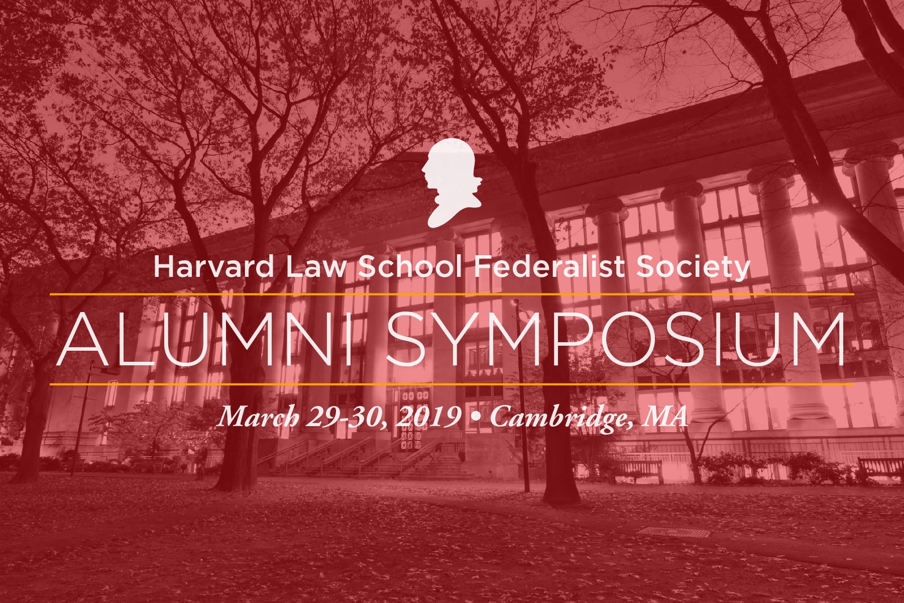 2019 Harvard Alumni Symposium