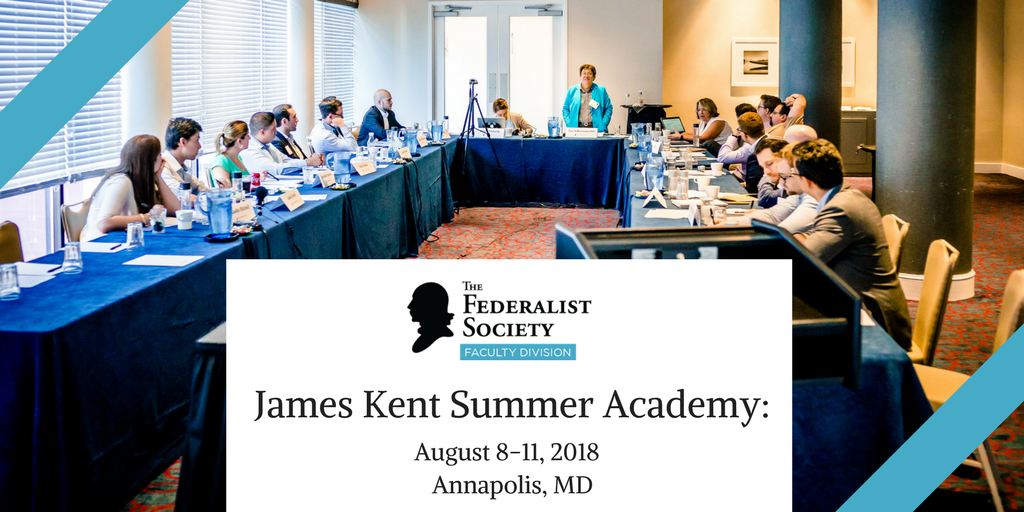 Faculty Division: James Kent Summer Academy