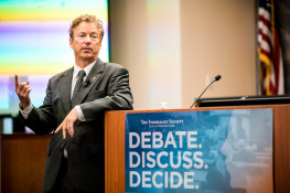 Click to play: A Conversation with Senator Rand Paul