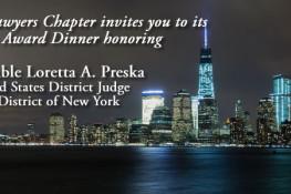 James Madison Award Dinner