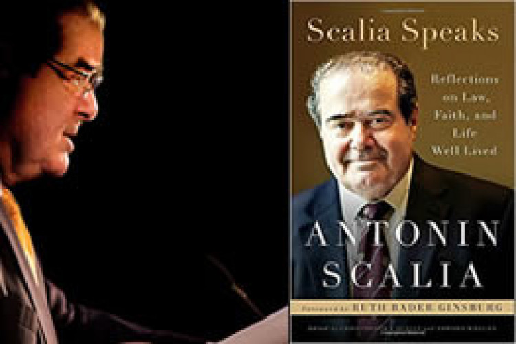 Special Session: Scalia Speaks: Reflections on Law, Faith, and Life Well Lived