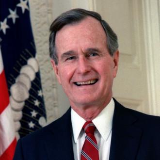 George H.W. Bush portrait