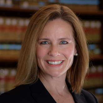Amy Coney Barrett portrait