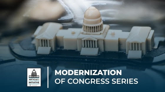 Modernizing the Select Committee on the Modernization of Congress