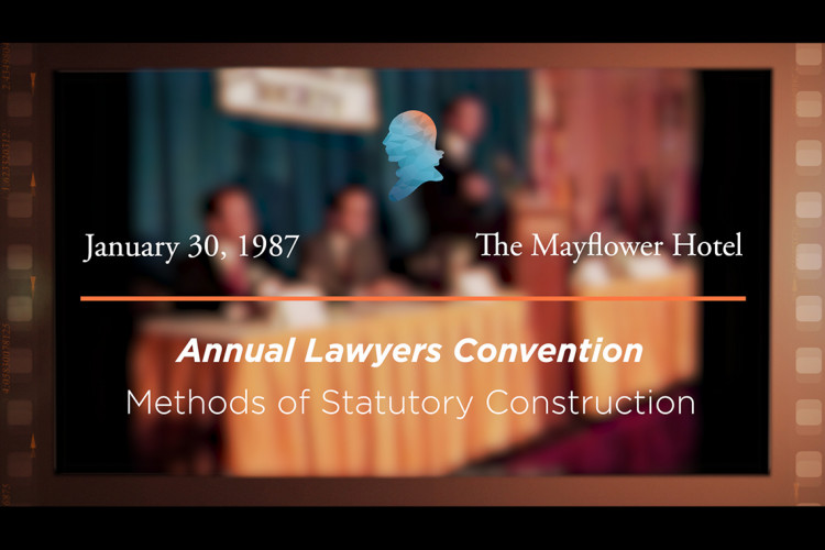 Methods of Statutory Construction [Archive Collection]