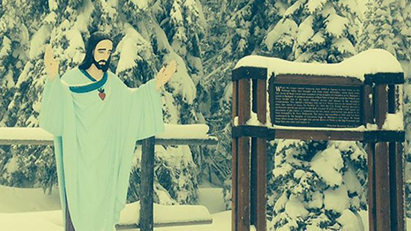 Article: Big Mountain Jesus