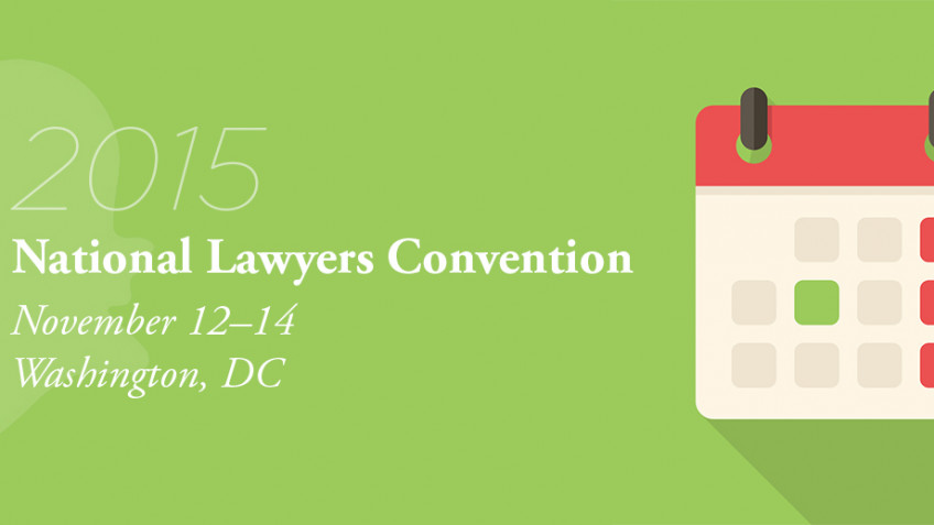 Countdown to the National Lawyers Convention: Beyond Saving Fire Hydrants