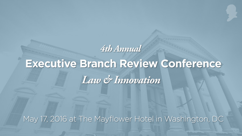 Executive Branch Review Conference Live Streams